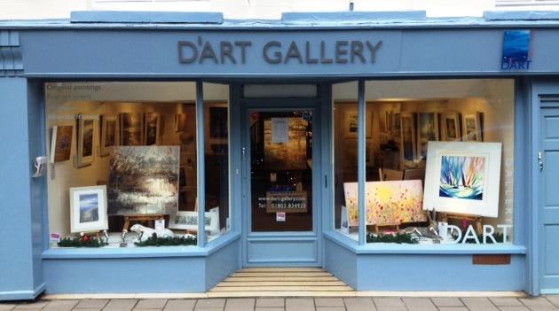 Dart Gallery Front Elevation